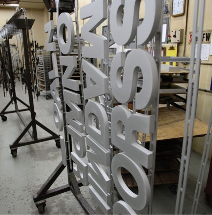 Metal Letter Fabrication